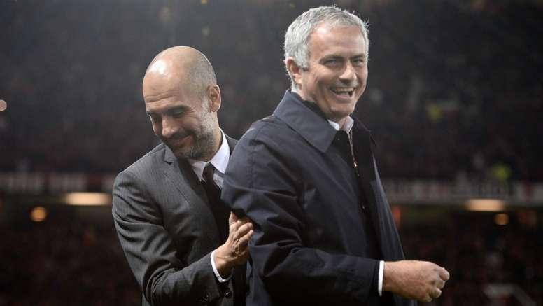 Mourinho and Guardiola - Cropped