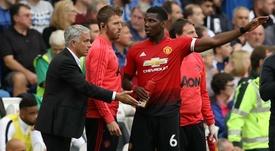 Saha believes Paul Pogba intentionally set out to destabilise Jose Mourinho. GOAL