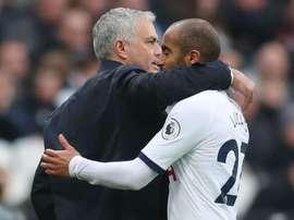 Lucas virou essencial no Tottenham de Mourinho. Goal