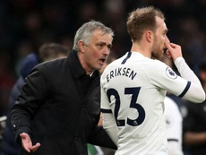 Eriksen has been linked with a move away. GOAL