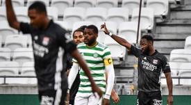 L'OL repart de l'avant face au Celtic. AFP