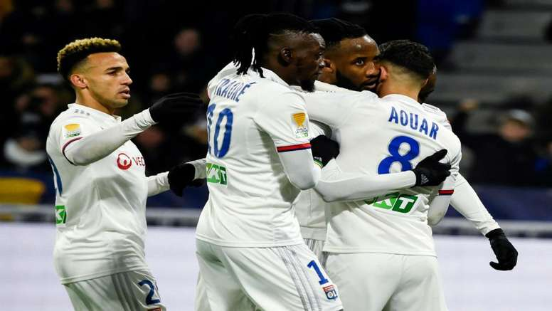 Les Lyonnais verront le stade de France. Goal