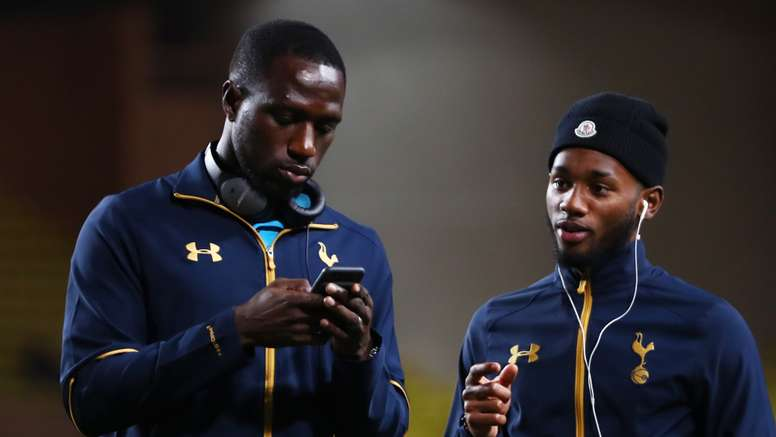 Moussa Sissoko with Georges-Kevin Nkoudou. Goal