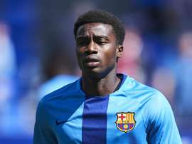 Wague has moved up to the Barca first team. GOAL