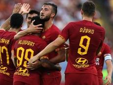 Pioggia e infortuni: Dzeko a rischio per Samp-Roma