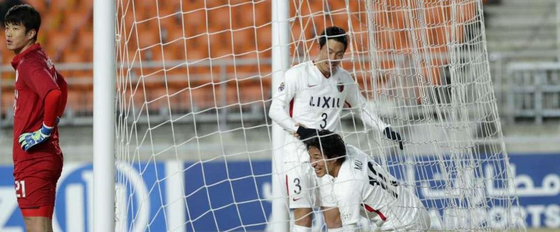 Kanazaki scored a brace. GOAL