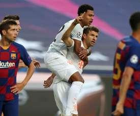 Thomas Müller a comparé la victoire du Bayern face au Barça à celle de l'Allemagne sur le Brésil