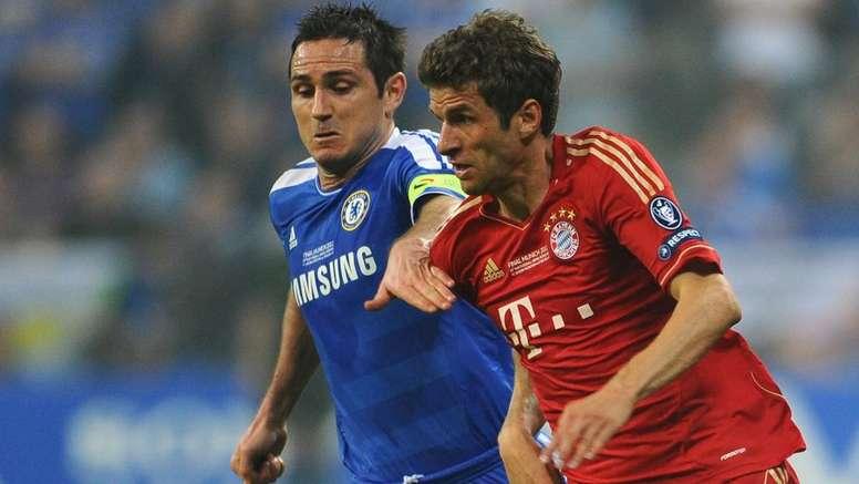 Chelsea-Bayern, 8 anni dopo la finale: Lampard sfida Muller dalla panchina. AFP