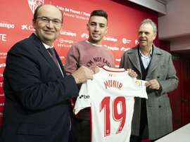 Munir has made some astonishing claims after his Nou Camp exit. GOAL