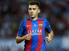 Roma are in talks with Barcelona over the signing of forward Munir El Haddadi. GOAL