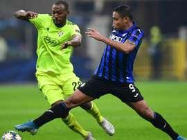 L'attaccante colombiano della Dea Muriel.
