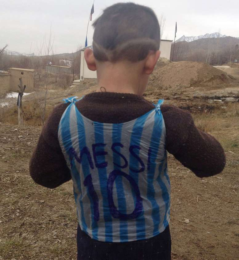 Murtaza Ahmadi became famous like this. Goal