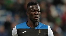 L'attaccante gambiano della Dea, Musa Barrow. Goal