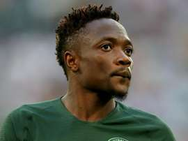 Ahmed Musa will be hoping to get Nigeria 3 points over Guinea. GOAL