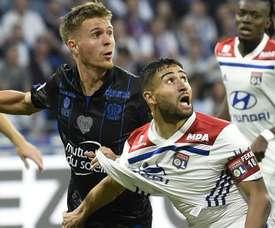 Souquet remplace Aguilar à Montpellier. AFP