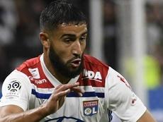 Nabil Fekir Lyon. Goal