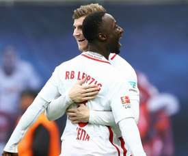 Keita wants former Leipzig teammate to join Liverpool. GOAL