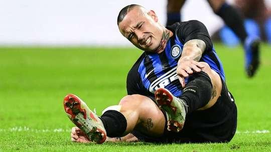 Guaio Inter: scontro con Biglia, Nainggolan costretto al cambio