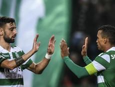 Nani à Bruno Fernandes : 'Ne choisis pas Manchester City'. AFP