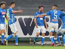 Tracollo Inter a Napoli: 4-1, la Champions si complica