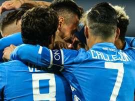 Naples a eu chaud. Goal