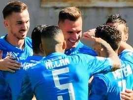 Le Napoli l'emporte devant la Roma. Goal