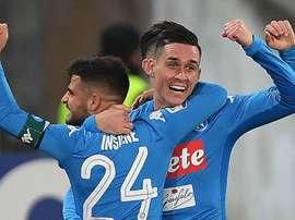 Naples l'a emporté. Goal