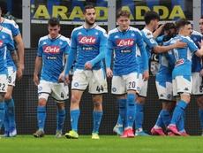 Il Napoli supera l'Inter a San Siro. Goal
