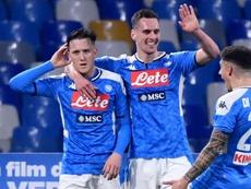 La Juve tombe au San Paolo. Goal