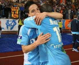 Samir Nasri rêve d'un retour à l'OM. Goal