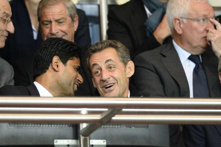 Nasser Al-Khelaifi Nicolas Sarkozy