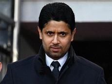 Nasser Al-Khelaïfi inculpé par la justice suisse pour corruption. AFP