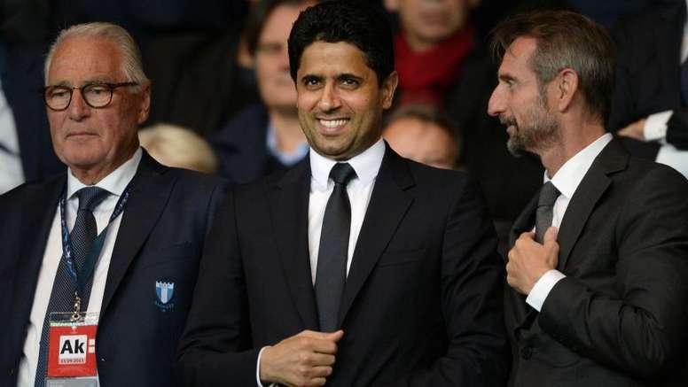 Al-Khelaïfi se dit content de la situation du PSG. GOAL