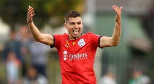 Western United 3-4 Adelaide United: Reds ruin Berisha's milestone match in seven-goal epic. Goal