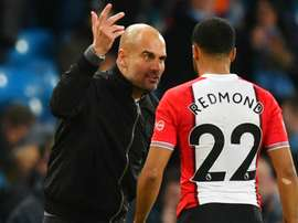 Guardiola: I was praising Redmond. GOAL