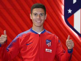 Nehuen Perez to link up with Atletico Madrid's first team contingent. GOAL