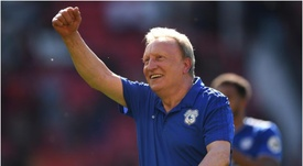 Warnock's side ended the season in style by beating United at Old Trafford. GOAL