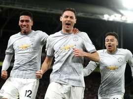 Manchester United a gagné sur le fil. Goal