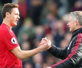 Matic soutient son coach. Goal