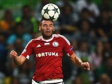 Nemanja Nikolic has left Legia Warsaw. Goal