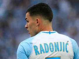 L'OM ne compterait plus sur Nemanja Radonjic. goal