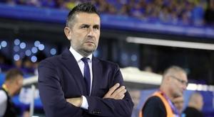 Il tecnico croato della Dinamo Zagabria Bjelica. Goal