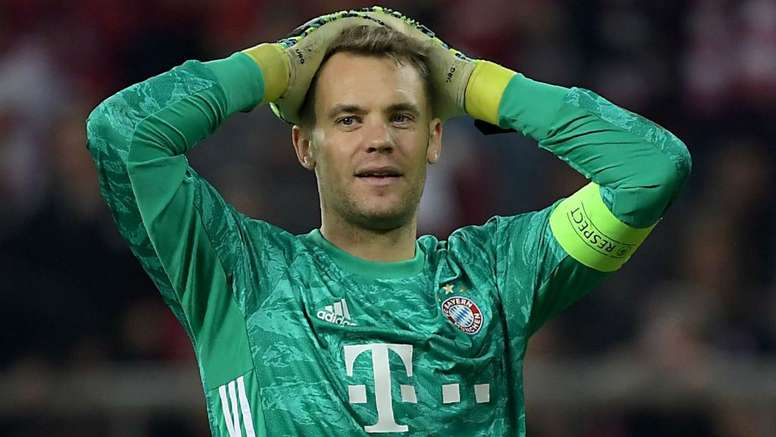 Neuer unhappy with Bayern defence