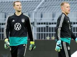 Neuer insists Ter Stegen rift rumours were blown out of proportion