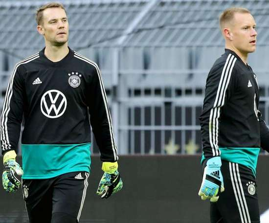 Neuer talks up 'great' relationship. GOAL