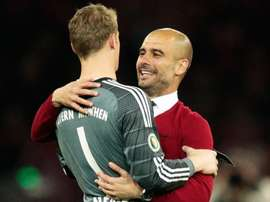Bayern 'going very well' under Flick amid Guardiola talk, says Neuer. GOAL