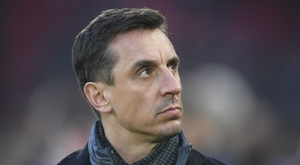 Gary Neville is not in favour of playing matches without fans for now. GOAL