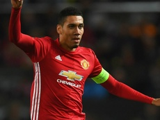 Chris Smalling in action for United. Goal