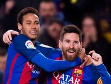 Messi says Neymar wants Barca return, hails 'spectacular' Martinez. GOAL