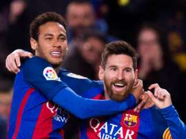 Messi says Neymar wants Barca return, hails 'spectacular' Martinez. GOAL